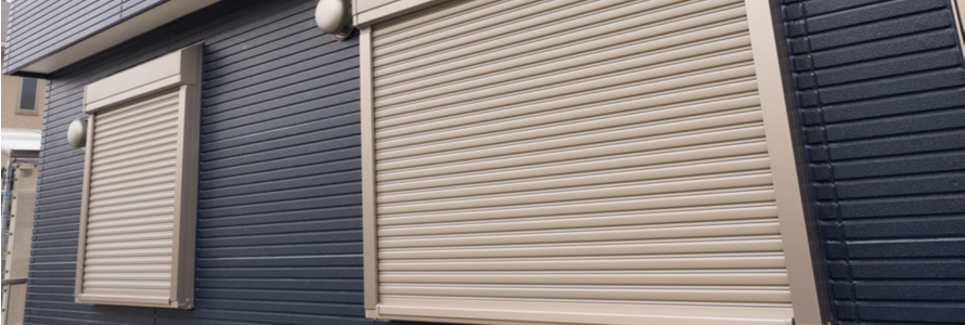 warehouse window shutters aluminium PVC steel