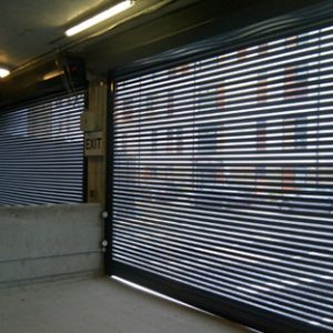high security roller shutters for car parks