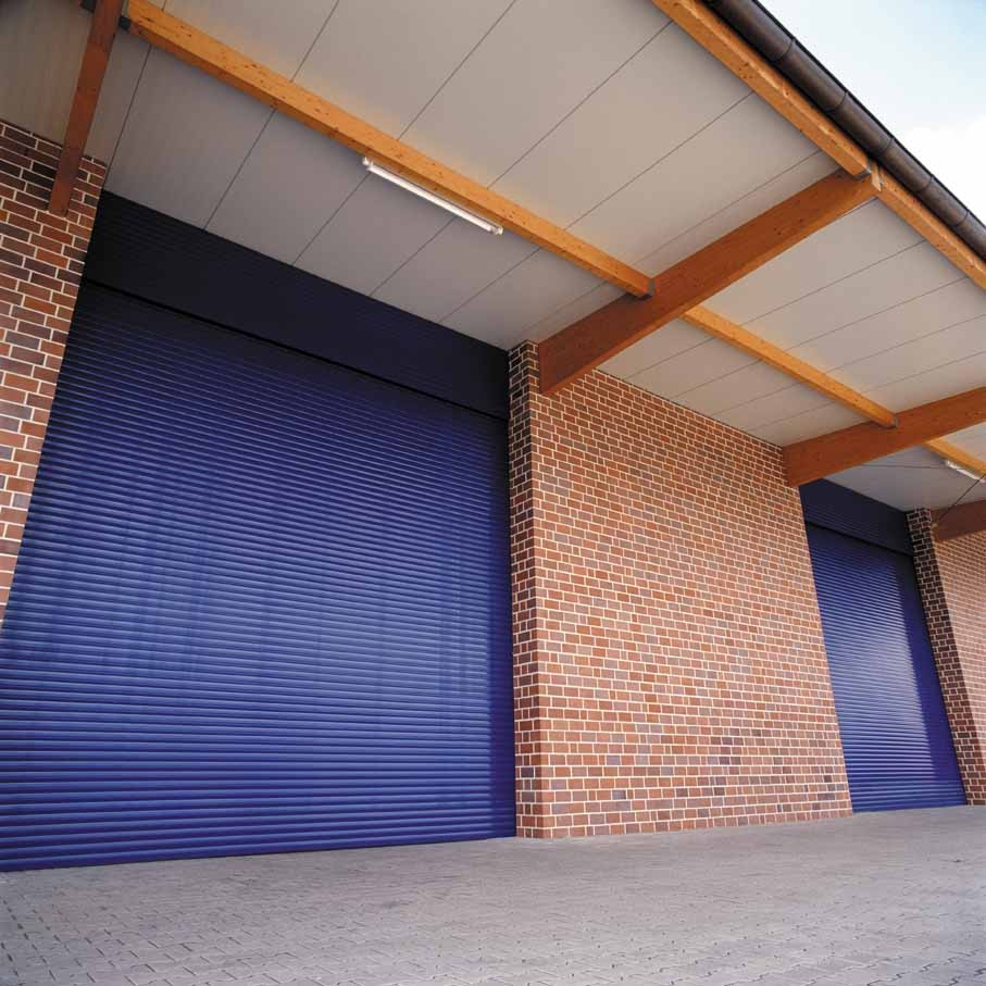 security shutters for industrial uses