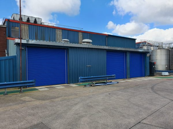 warehouse security roller shutters