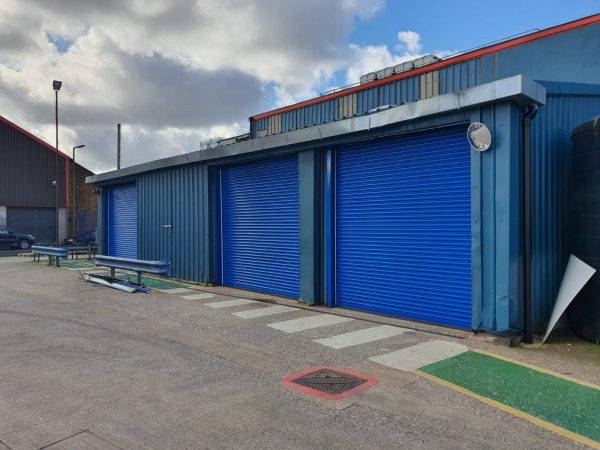 high security roller shutters for industrial premises