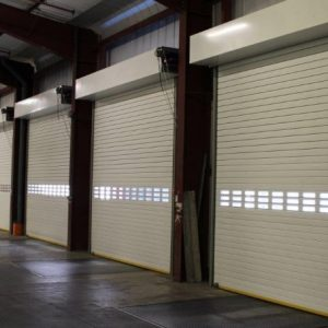 sound reduction roller shutters