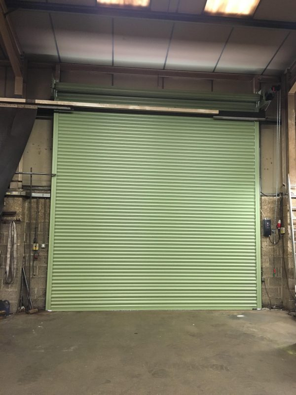 industrial roller shutters for loading bays