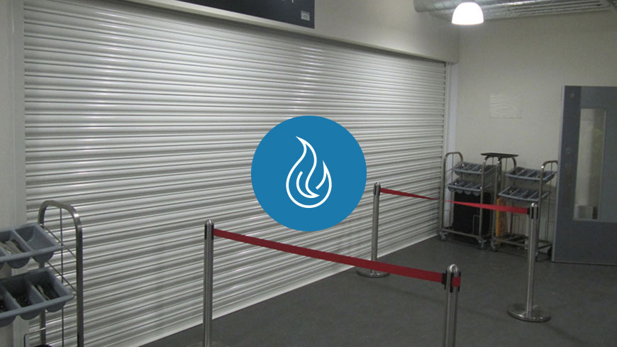 Vertical and Horizontal Fire Rated Roller Shutters and Smoke Curtains